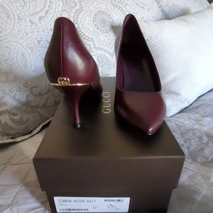 Gucci Leather Heels